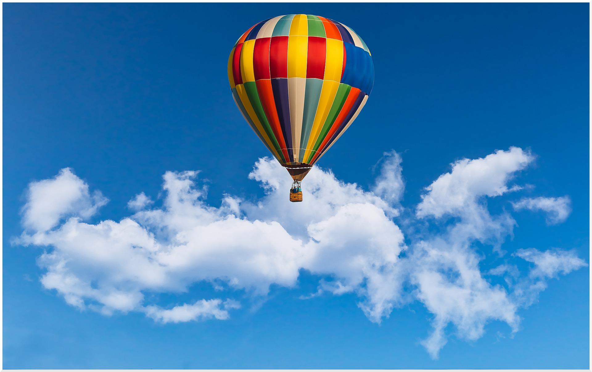 vol en montgolfière en Normandie